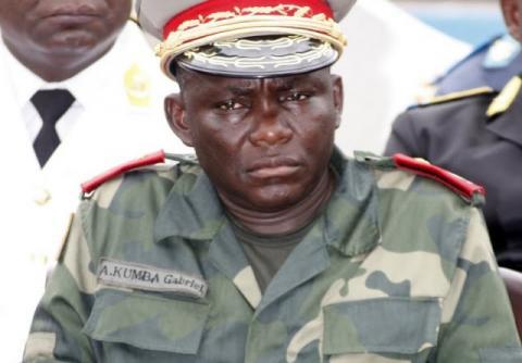 RDC: Joseph Kabila réhabilite le général Gabriel Amisi chef d'état-major de l'armée de terre