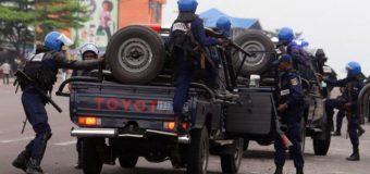 RDC: Un important dispositif policier déployé à Kananga