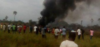 Crash d'un avion militaire à Kinshasa, «plusieurs dizaines» de morts