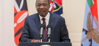 Kenya: le président Uhuru Kenyatta, investi pour un second mandat