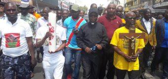 L'opposition congolaise en Afrique du Sud manifeste pour le départ de Joseph Kabila