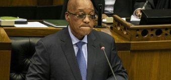 Afrique du Sud: le pouvoir du président Jacob Zuma ne tient plus qu'à un fil