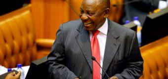 Cyril Ramaphosa, nouveau président de l'Afrique du Sud après la démission de Zuma