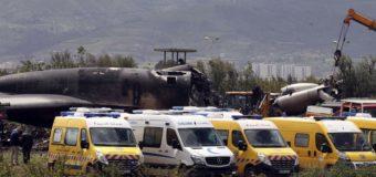 Algérie: 257 morts dans le crash d'un avion militaire, pire drame aérien du pays