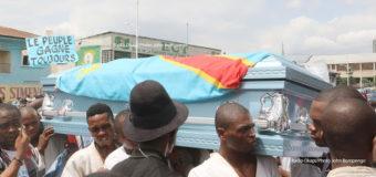 Obsèques de Rossy Mukendi: les forces de sécurité repriment la procession funéraire à Kinshasa
