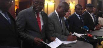 RDC: le contenu de l'accord (mort-né) de Genève sur le candidat commun de l'opposition