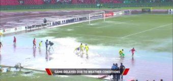 CAN-2019: le derby Congo-RDC (1-1) pertubé par la pluie et des tirs de lacrymogène