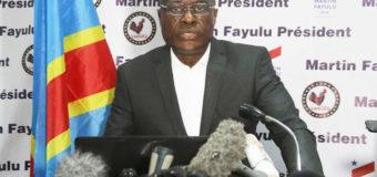 Ultimatum de Martin Fayulu à l'Union africaine: refaire les élections dans les six mois sinon…