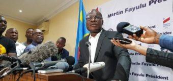 RDC: Martin Fayulu conteste la décision de la Cour Constitutionnelle et appelle à des «des manifestations pacifiques »