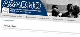 RDC: l'ASADHO réclame des sanctions ciblées contre «les torpilleurs du processus démocratique»