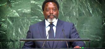 Discours de Joseph Kabila à l'ONU: la preuve qu'il ne veut pas quitter le pouvoir