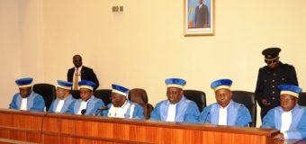 RDC: deux juges de la Cour constitutionnelle demissionnent